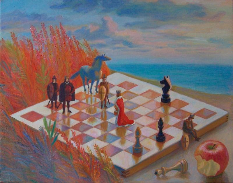 Chess spell 2010 40x50.