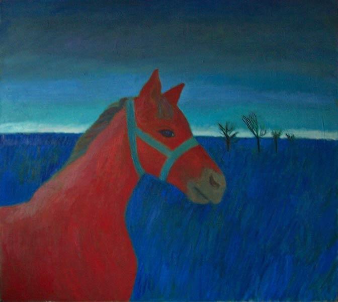 Horse 2008 80x90