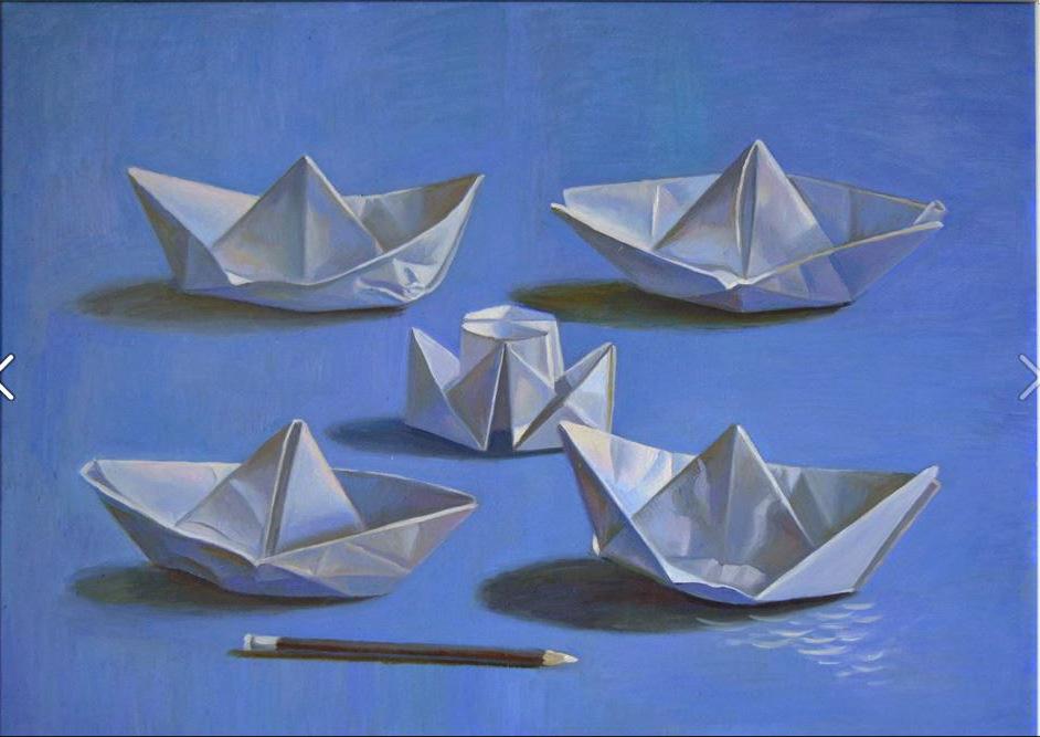 Boats 40x50