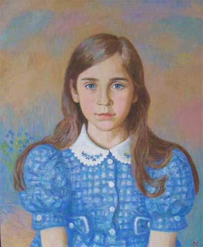 Domenica, 50x60, oil on the canvas, 2008, in a private collection