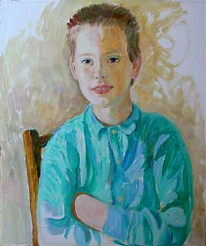 Nick, 40x60, oil on the canvas in a private coillection