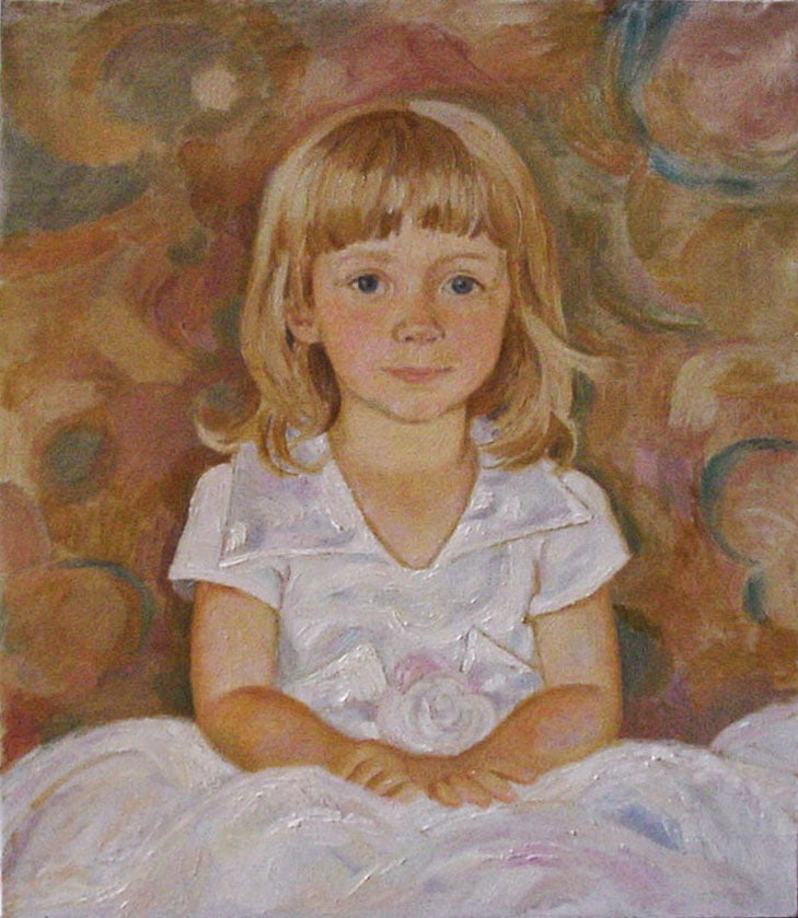 Kate, 50x60, oil on the canvas, 2000, in a privat collection